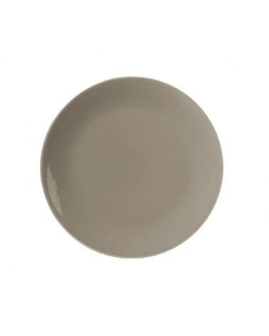 Assiette plate 26 cm VITA Taupe, 12 pièces