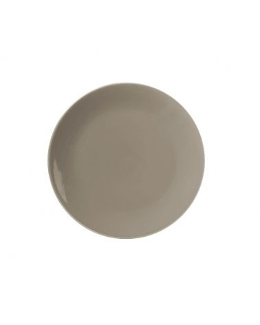 Assiette à dessert 20 cm VITA Taupe, 12 pièces