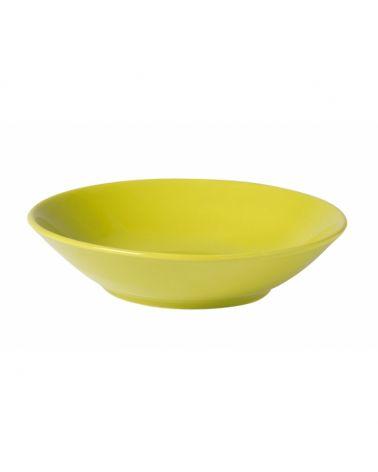 Assiette creuse 21 cm VITA Anis, 12 pièces