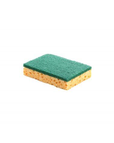 Lot de 10 Eponges végétales Classic + récurant vert PM