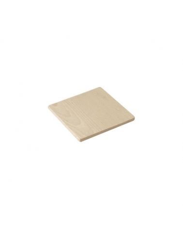 Dessous de plat 15 x 15 cm en bois de hêtre
