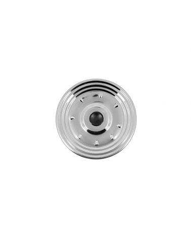 Couvercle de cuisson inox 21 cm avec bouton bakélite