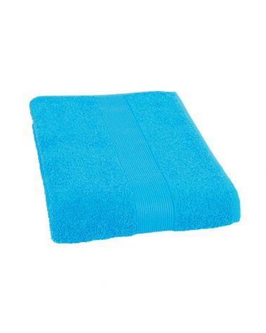 Serviette coton 50 x 100 cm Turquoise, 6 pièces
