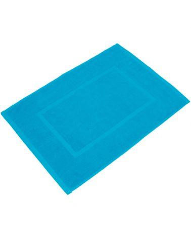 Tapis de bain 50 x 70 cm Turquoise, 6 pièces