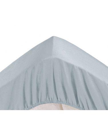 Drap housse grands bonnets 30 cm Gris