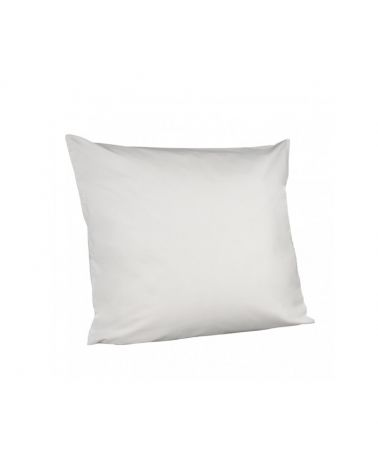 Taie d'oreiller lavable confort Blanc