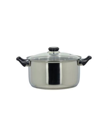 Faitout Cookery 24 cm inox avec couvercle