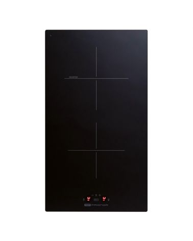 Domino induction - noir en verre