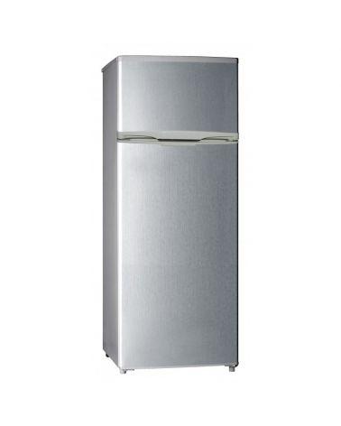 Réfrigérateur congélateur 54,5 cm 206 L Silver